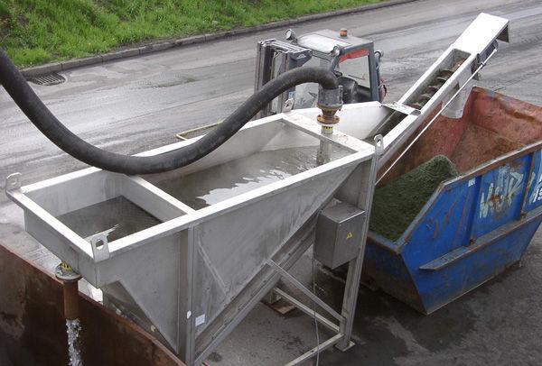 螺旋砂水分离输送机